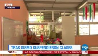 Continúan, suspendidas, clases, Chiapas