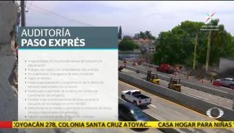 SFP detecta irregularidades en la construcción del Paso Express