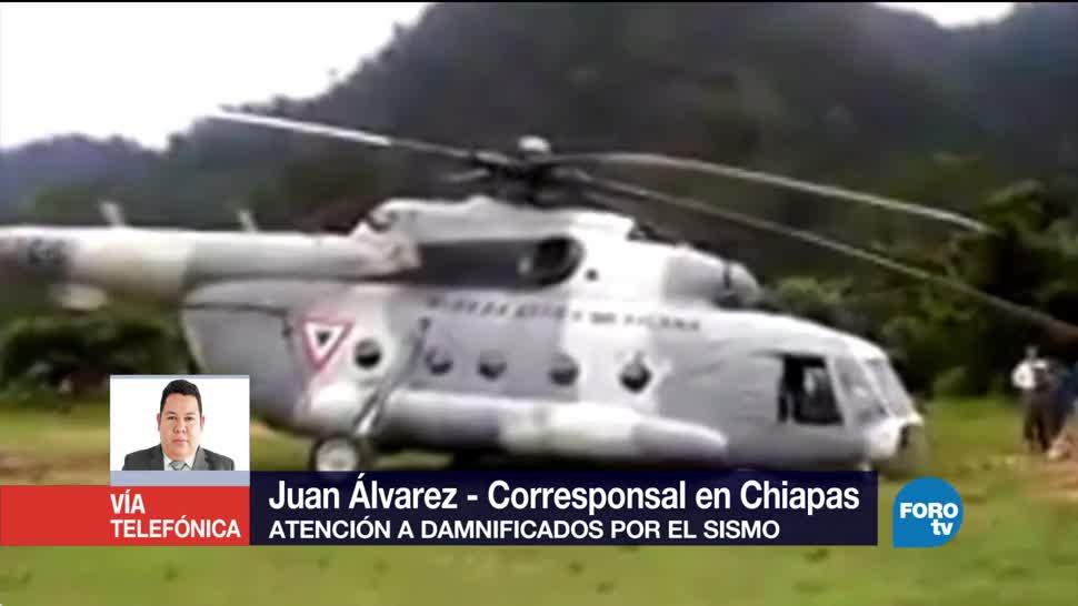 Aumenta el número de viviendas afectadas por sismo en Chiapas
