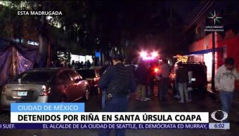Riña, Santa Úrsula, Coapa, CDMX
