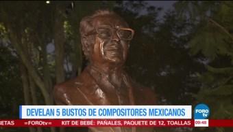 Develan Bustos Compositores Bosque de Chapultepec