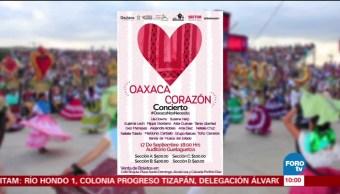 Concierto, beneficio, damnificados, Oaxaca