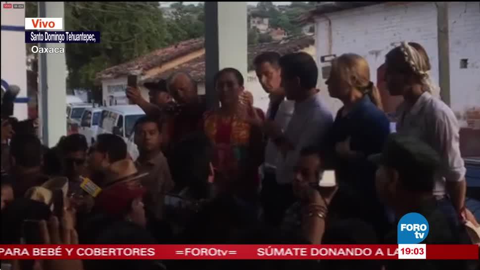 EPN asegura que ayuda llegará pronto a Oaxaca