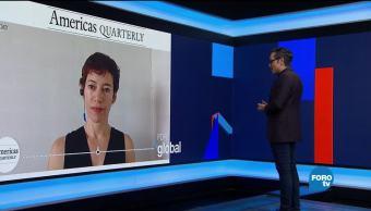 Genaro Lozano entrevista a Juliana Barbassa