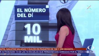 El número del día: 10 mil