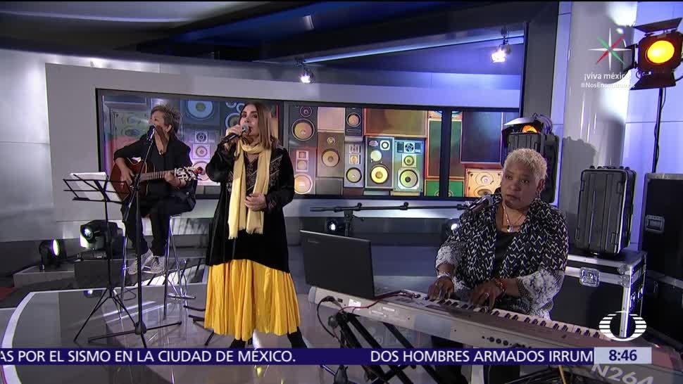Tania Libertad invita al concierto por los damnificados de Oaxaca