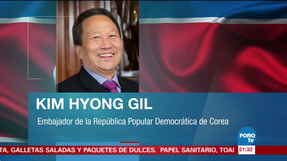 Embajador Corea del Norte deja México