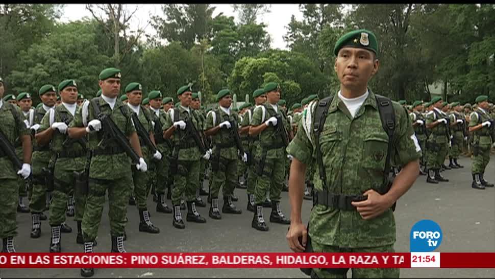 Militares desfilarán con orgullo el 16 de septiembre