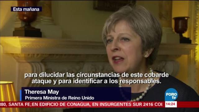 Reino Unido mantiene alerta terrorista en nivel 4