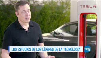 Lo que estudiaron los líderes tecnológicos