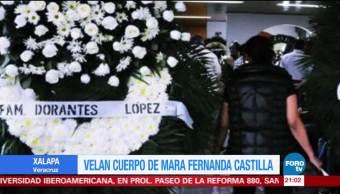 Velan el cuerpo de Mara Fernanda localizada este viernes en Puebla