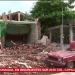 Pobladores de Juchitán continúan con temor tras réplicas del sismo