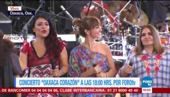 """Realizan últimos preparativos para concierto """"Oaxaca corazón"""""""