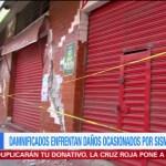 Continúa acordonada cuarta sección de Juchitán por daños tras sismo