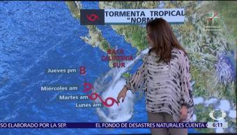 Se mantendrán lluvias en la mayor parte del país