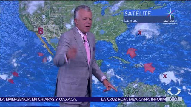 Despierta con Tiempo: 'Norma' y la onda tropical 34 mantendrán lluvias