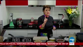 ¿Cómo preparar el pastel azteca?