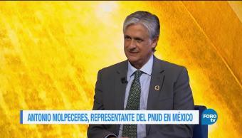 Genaro Lozano entrevista a Antonio Molpeceres
