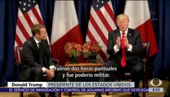 Trump quiere superar desfile del Día de la Bastilla en Francia