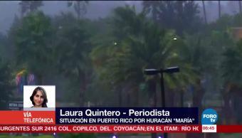 Situación en Puerto Rico por el huracán 'María'