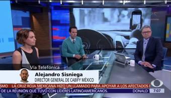 Alejandro Sisniega, director de Cabify México, habla en Despierta con Loret