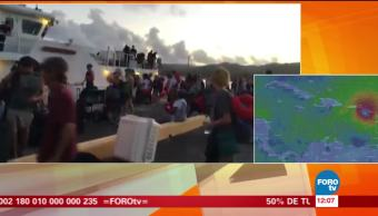 Se aproxima el huracán María a Puerto Rico