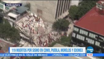Reportan 17 Personas Atrapadas Edificio Álvaro Obregón