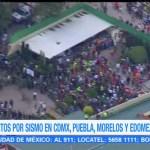 Reporte de afectaciones tras sismo en la CDMX