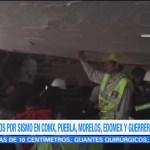 Informan Personas Atrapadas Colegio Rébsamen Elementos De Rescate