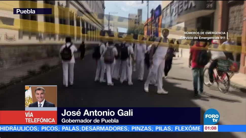 Suman 39 Muertos Sismo Puebla Gobernador Antonio Gali