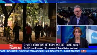 Sismos con epicentro cercano a la CDMX ya se habían presentado SMN