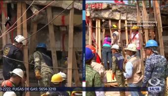 Rescatistas Colegio Rébsamen Esperan Encontrar Varios Sobrevivientes