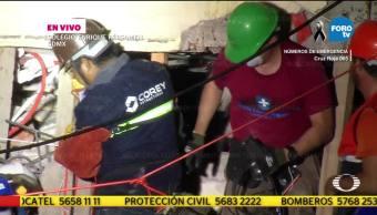 Escáner de temperatura identifica personas con vida atrapadas en Colegio Rébsamen