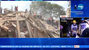 Aumenta el número de muertos por el sismo en México