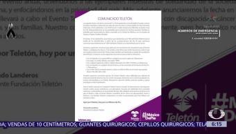 Teletón destinará 100% del boteo a damnificados del sismo en México