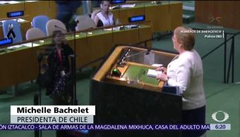 Líderes del mundo reunidos en la ONU expresan solidaridad a México