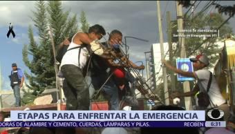 Así es una jornada de búsqueda y rescates tras sismo en CDMX