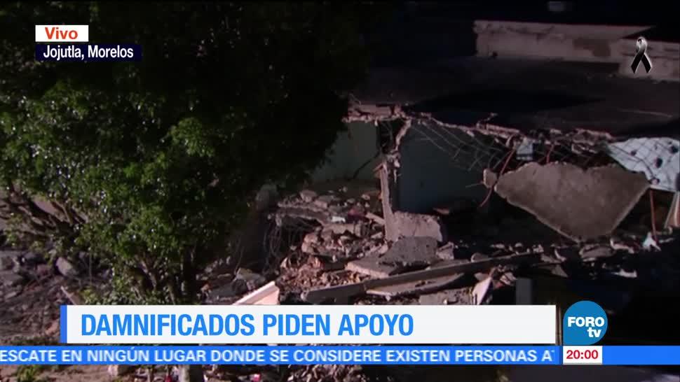 Hay 10 mil viviendas dañadas por el sismo en Morelos