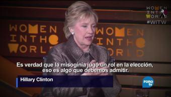 Hillary Clinton explica por qué perdió contra Trump