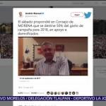 AMLO propone destinar 20% de gastos de campaña 2018 a damnificados