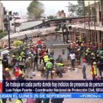 México volvió a la unidad tras terremoto, dice Luis Felipe Puente