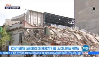 Aún no inicia demolición de inmueble colapsado en Medellín CDMX