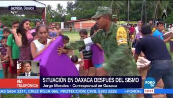 Oaxaca intenta regresar a la normalidad tras sismo del 7 de septiembre