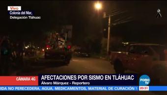Inician censo para evaluar daños por sismo en la colonia Del Mar