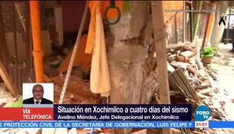 Luz quedaría restablecida este sábado en San Gregorio Atlapulco: Avelino Méndez
