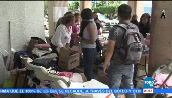 Instalan centros de acopio en Acapulco para afectados por el sismo