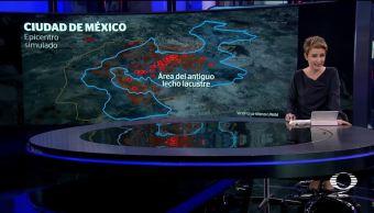 El impacto del sismo en la zona lacustre