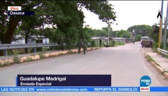 Pobladores de Ixtaltepec, Oaxaca, permanecen en las calles tras nuevo sismo