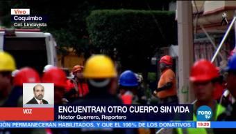 Rescatistas en Lindavista continúan la búsqueda de sobrevivientes tras sismo