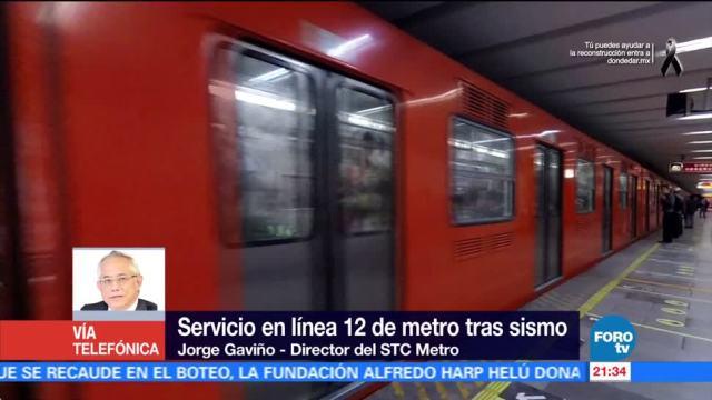 Continuará suspensión de servicio en estaciones de la Línea 12